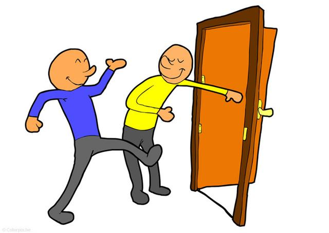 clipart door opening. Someone+opening+a+door