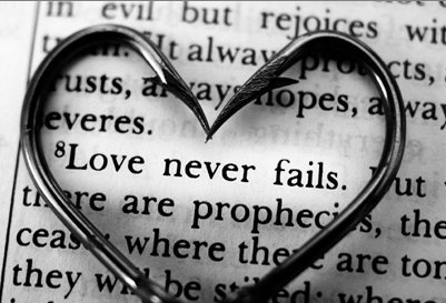 Love Never Fails Quote