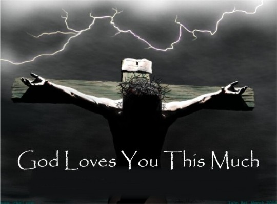 Image result for god loves you this much