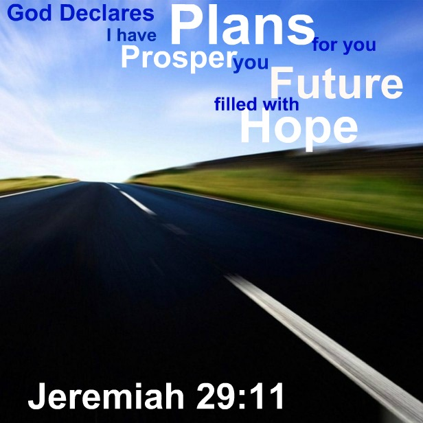 Inspirational Bible Verses - Jeremiah 29:11 – God Has Plans for You (2/2)