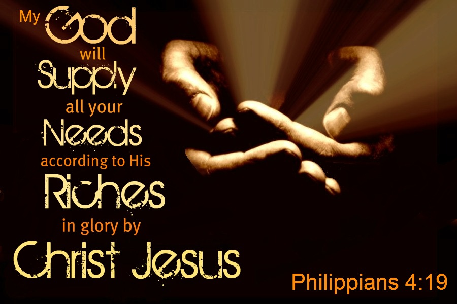 Understanding Bible Verses – Philippians 4:19- God Will Supply All Your Needs
