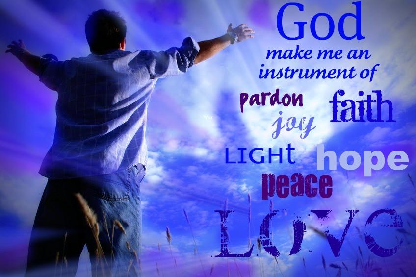 inspirational bible verses god make me an instrument