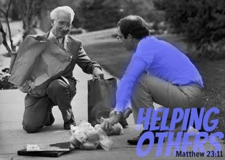 Inspirational Bible Verses -Being a Servant – Helping a ...