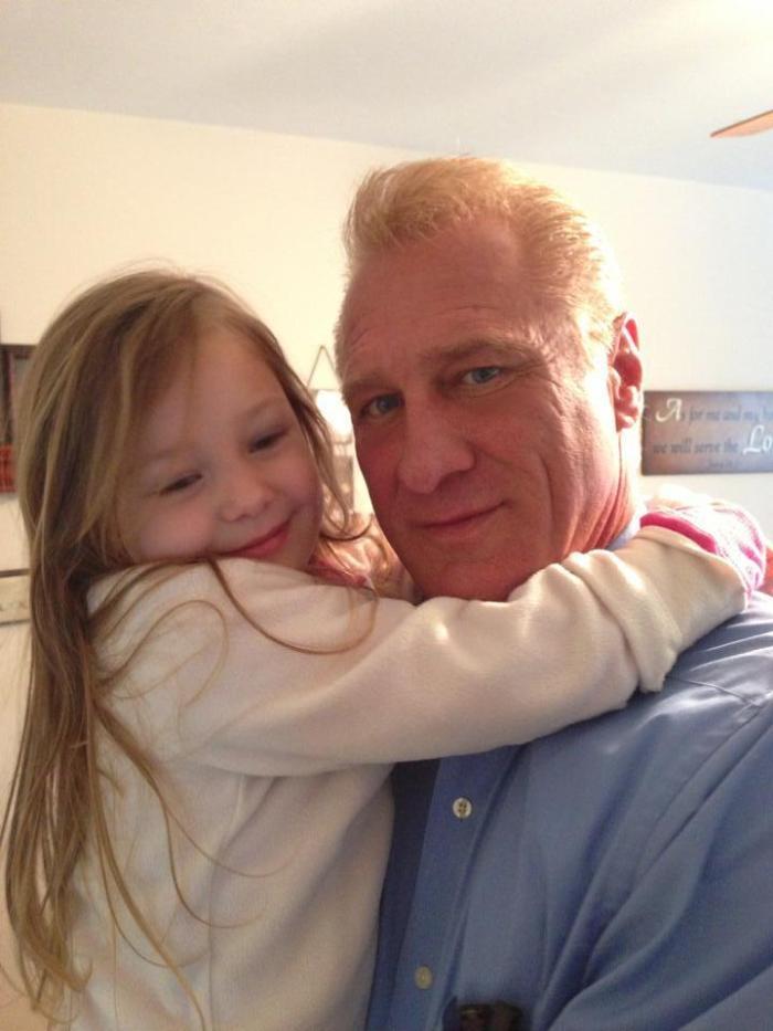 My sweet Lilah J - J is for papa's joy - My  oldest grandchild