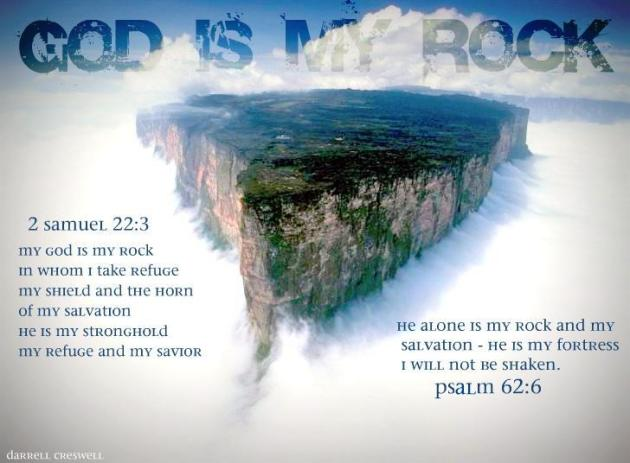 2 Samuel 22 3  Psalm 62 6