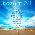 Jeremiah 29:11 God's plan for my life