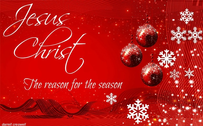 Jesus christ the reason for the season
