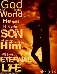john 3 16 God so loved the world