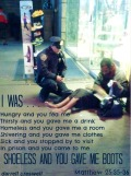 Lawrence DePrimo NY Police Officer Matthew 25 35 hungry and you fed me