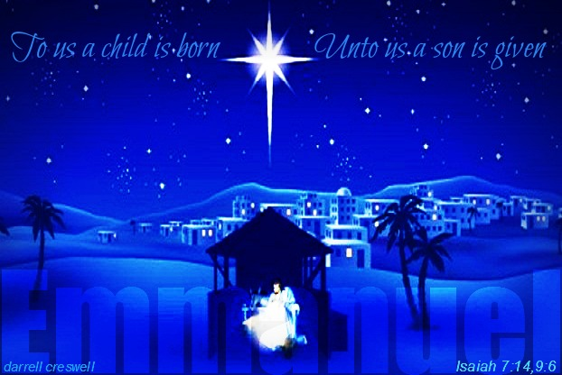 Unto us a child is born a son is given Isaiah 7 14 9 6