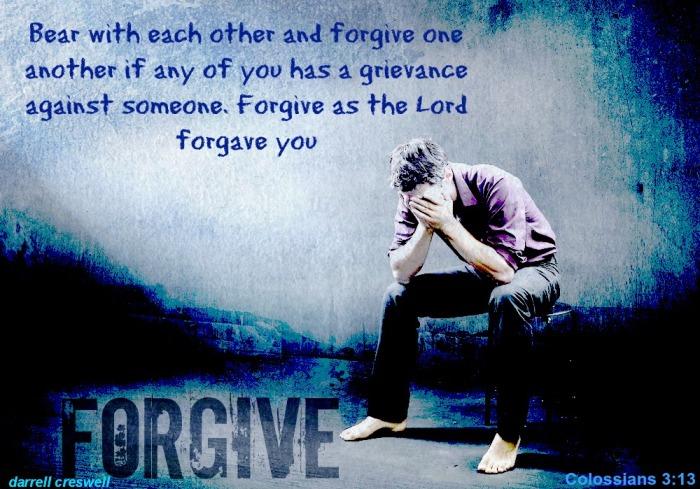Christ fogave Forgive Colossians 3 13