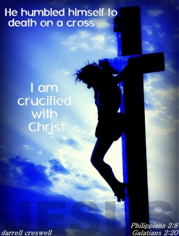I am crucified with Christ Galatians 2 20