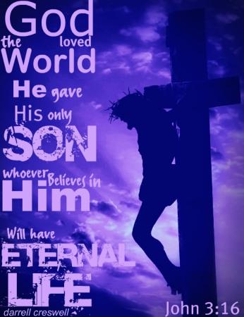 For God so loved the world John 3:16