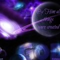 Colossians 1 17 God created all things