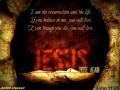 ohn 11 25 Jesus rose again resurrection and life