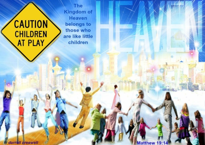 heaven children matthew 19:14