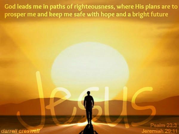 eremiah psalm 23 Jesus