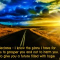 Plans for your life Jeremiah 29 11
