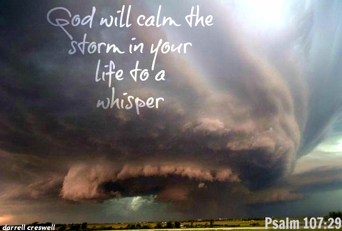 Psalm 10729 God calm storm