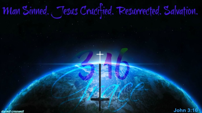 grace world salvation john 3 16