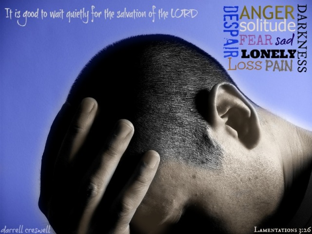 wait on the Lord Lamentations 3 26
