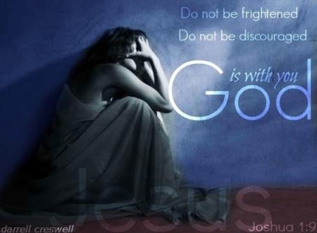 Joshua 1 9 God is with you
