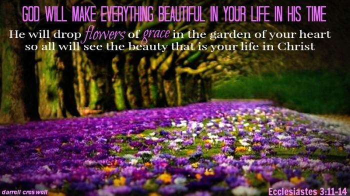 Images of Flowers With Bible Verses God's Plan Flowers Grace
