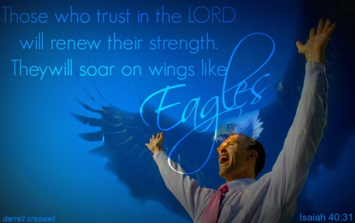 rise up with wings like eagles Isaiah 40 31