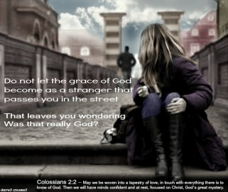 Colossians -face of grace - getting to know God