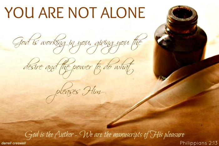 You Are Not Alone Bible Verse