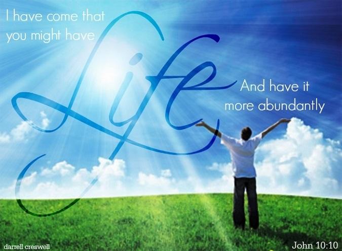 Grace Life John 10 10