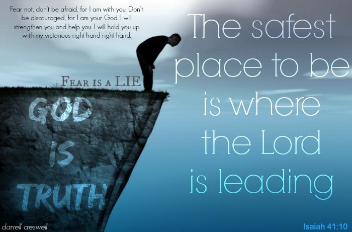 Isaiah 41 10 fear of failure