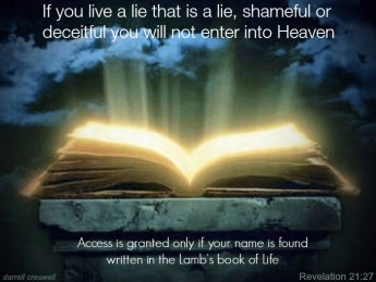 Lamb's Book of Life Revelation 21 27