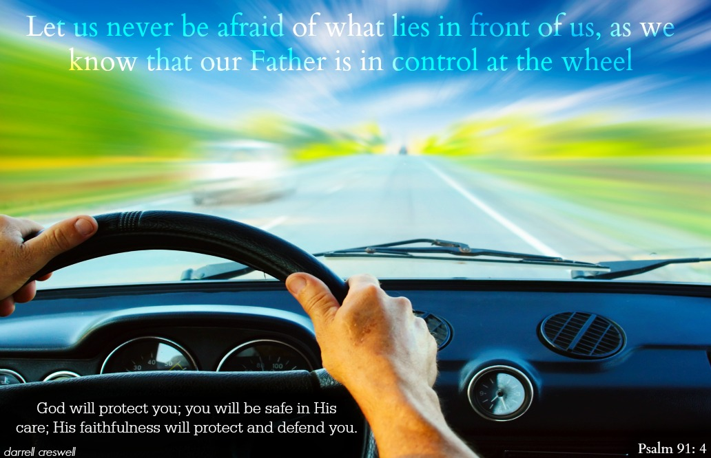 God at the Wheel of Your 56 Buick ? Inspirational Bible Verses